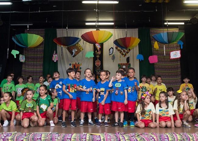 #MomentoMarcante: Projeto do 1º ano EF celebra a formação do povo brasileiro