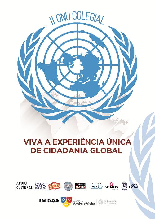 2ª edição da ONU Colegial promove experiência de cidadania global no Vieira