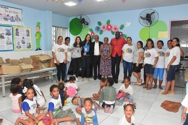 Voluntariado do Vieira realiza doação em parceria com a OAB-BA