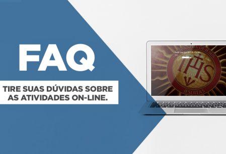 FAQ: perguntas mais frequentes sobre as atividades on-line