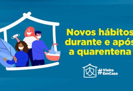 Vieira orienta comunidade educativa sobre novos hábitos durante e após quarentena