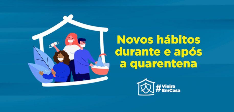 Vieira orienta comunidade educativa sobre novos hábitos durante e após a quarentena