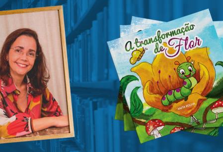 Ex-aluna e mãe vieirense, médica Anita Rocha lança livro infantil