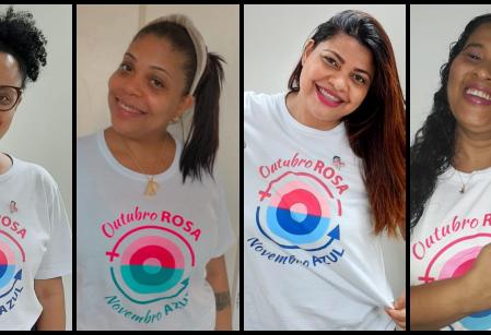 Vieira orienta colaboradores nas campanhas Outubro Rosa e Novembro Azul