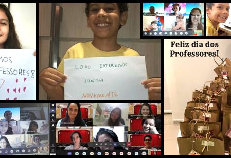 Dia do Professor - Uma Homenagem às Histórias que Escrevemos Juntos