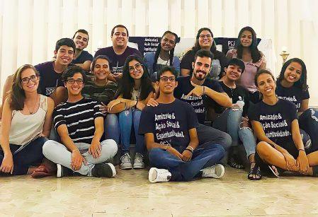 Peregrinos de Calça Jeans agradecem comunidade vieirense pelo apoio em ações solidárias durante a pandemia