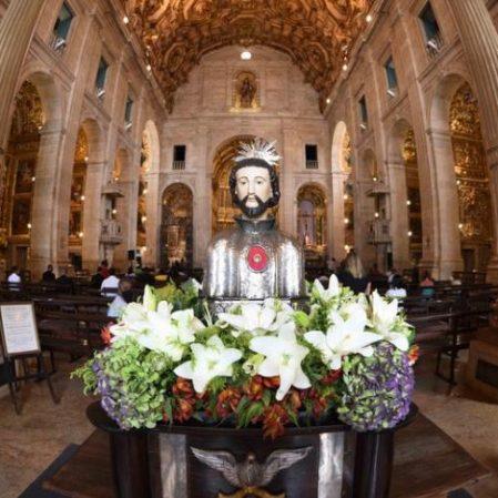 Moção de Congratulações celebra 335 anos de consagração do mártir São Francisco Xavier como padroeiro de Salvador