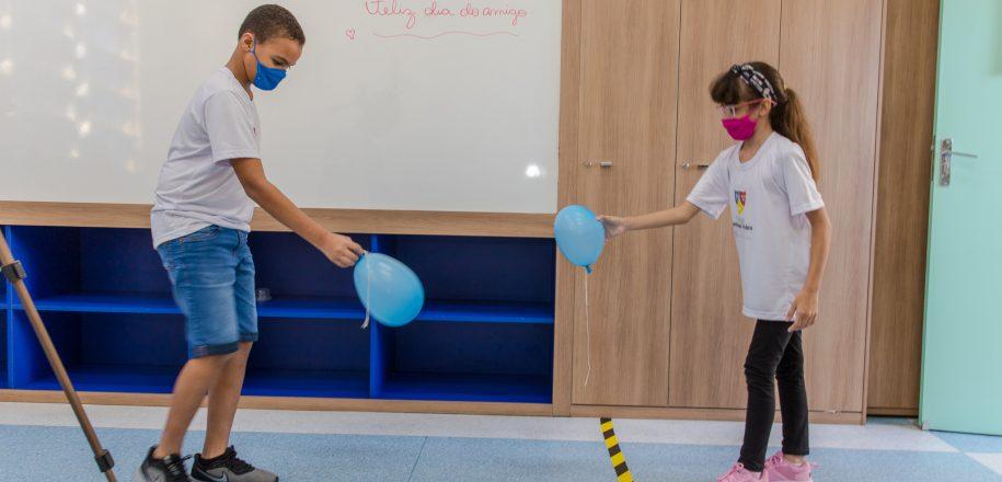 Jogos Olímpicos são tema de aulas especiais de Educação Física no Vieira