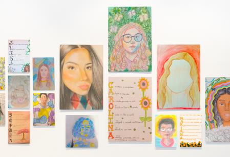 Van Gogh e Frida Khalo inspiram estudantes do Vieira em atividade de Artes e Religião