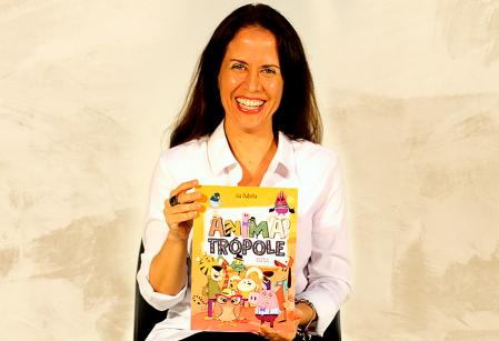 Ex-aluna do Vieira, escritora Liu Oubiña lança livro infantil Animatrópole