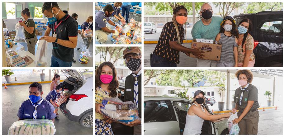 Em quarta edição, Drive Solidário do Vieira beneficia sete instituições