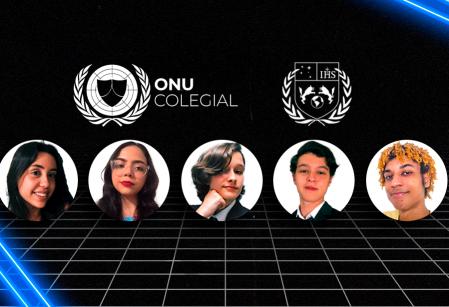 Estudantes do Vieira recebem menção honrosa em simulação de conferência da ONU de BH