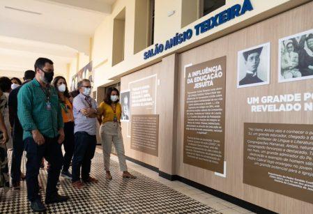 Salão Anísio Teixeira é inaugurado integrando espaços de aprendizagem do Vieira
